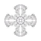 Ornamento delle inche antiche Indiani e simboli Elementi per un ornamento e un fondo Immagine Stock