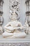 Ornamento di angolo in tempio Immagini Stock Libere da Diritti