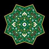 Ornamento di arabo di Taza Fotografie Stock Libere da Diritti