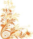 Ornamento di autunno Immagini Stock