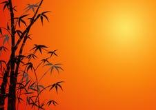 Ornamento di bambù Fotografie Stock
