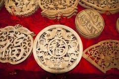 Ornamento di benedizione Fotografia Stock