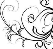 Ornamento di disegno Fotografia Stock