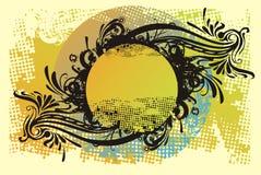 Ornamento di disegno di Grunge Immagini Stock Libere da Diritti