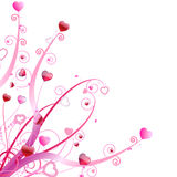 Ornamento di giorno del biglietto di S. Valentino fotografia stock libera da diritti