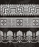 Ornamento di Grek Fotografia Stock