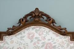 Ornamento di legno Fotografia Stock