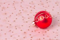 Ornamento di Natale Immagini Stock