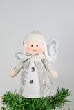Ornamento di Natale - angelo fotografie stock