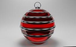 ornamento di Natale 3D Fotografia Stock Libera da Diritti