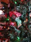 Ornamento di Natale dell'automobile Fotografia Stock