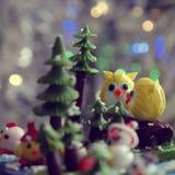 Ornamento di natale di Diy alla decorazione nella vacanza invernale Immagine Stock Libera da Diritti