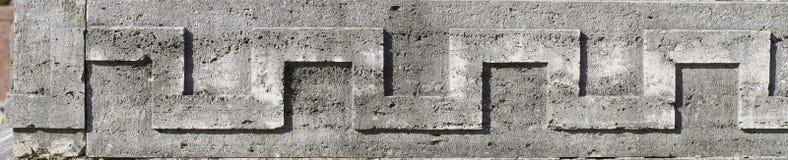 Ornamento di pietra Immagini Stock