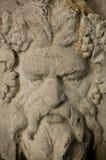 Ornamento di pietra del giardino dell'uomo verde Fotografia Stock Libera da Diritti
