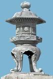 Ornamento di pietra giapponese Fotografia Stock