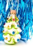Ornamento di vetro dell'albero di Natale immagini stock libere da diritti