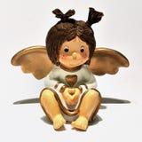 Ornamento do anjo do Natal Foto de Stock Royalty Free