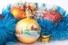 Ornamento do ano novo Imagens de Stock Royalty Free