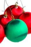 Ornamento do bulbo do Natal Imagem de Stock Royalty Free