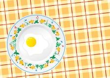 Ornamento do círculo da galinha Imagem de Stock