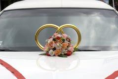 Ornamento do casamento Imagens de Stock