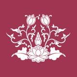 Ornamento do chinês do vetor Foto de Stock Royalty Free