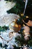 Ornamento do floco de neve Fotos de Stock