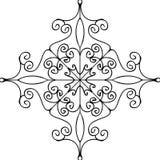 Ornamento do flourish do esboço Imagem de Stock