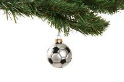 Ornamento do futebol Foto de Stock