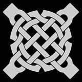 ornamento do kelt Imagens de Stock Royalty Free