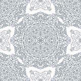 Ornamento do laço com as ondas redondas Fotografia de Stock