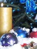 Ornamento do X-mas Fotografia de Stock