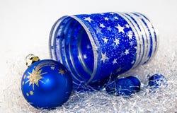 Ornamento do Natal. fotografia de stock