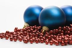 Ornamento do Natal. foto de stock royalty free