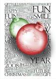 Ornamento do Natal ilustração do vetor