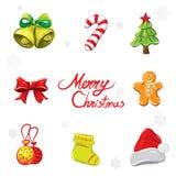 Ornamento do Natal ilustração royalty free