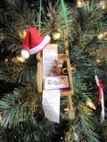 Ornamento 1 do Natal Imagens de Stock