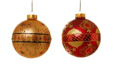 Ornamento do Natal Fotografia de Stock Royalty Free