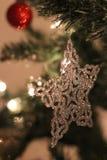 Ornamento do Natal do floco de neve Fotos de Stock