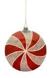 Ornamento do Natal dos doces de Peppermint Imagens de Stock Royalty Free