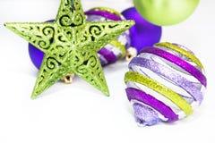 Ornamento do Natal na neve Imagem de Stock Royalty Free