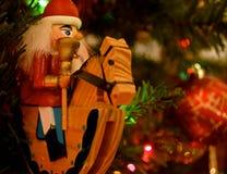 Ornamento do Natal - quebras-nozes foto de stock royalty free