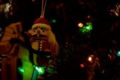 Ornamento do Natal - quebras-nozes imagem de stock