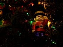 Ornamento do Natal - quebras-nozes fotografia de stock