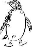 Ornamento do pinguim ilustração do vetor