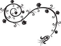 Ornamento do tatuagem ilustração stock