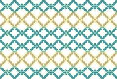 Ornamento do teste padrão de flor do vetor Textura luxuosa elegante para a matéria têxtil, as telas ou os fundos dos papéis de pa Imagens de Stock