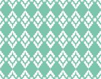 Ornamento do teste padrão do damasco do vetor Textura luxuosa elegante para a matéria têxtil, as telas ou os fundos dos papéis de Imagem de Stock Royalty Free