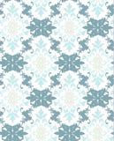 Ornamento do teste padrão do damasco do vetor Textura luxuosa elegante para a matéria têxtil, as telas ou os fundos dos papéis de Fotografia de Stock Royalty Free