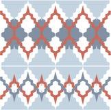 Ornamento do teste padrão do vetor Textura luxuosa elegante para a matéria têxtil, as telas ou os fundos dos papéis de parede Foto de Stock